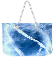 Contrail Concentricities Weekender Tote Bag