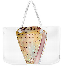 Conus Leopardus Shell Weekender Tote Bag