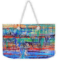 Convection Diffusion Weekender Tote Bag by Regina Valluzzi