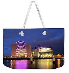 Convention Centre Dublin And Pwc Building In Dublin, Ireland Weekender Tote Bag