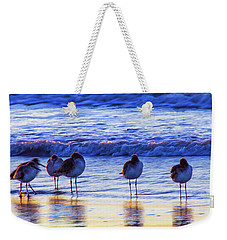 Weekender Tote Bag featuring the photograph Convention by Joye Ardyn Durham