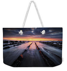 Converging To The Light Weekender Tote Bag