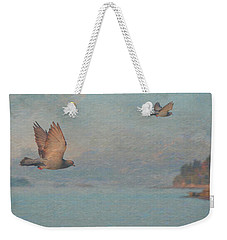 Coocoocachoo-fin Weekender Tote Bag by Ed Hall