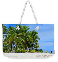 Cook Islands Weekender Tote Bag