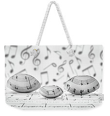 Cooking Is Like Music Weekender Tote Bag