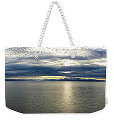 Cookinlet To Mountains Weekender Tote Bag