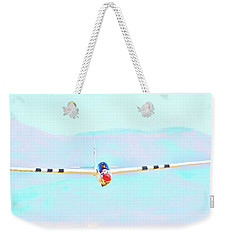 Cool Blue Sky Sailing Weekender Tote Bag