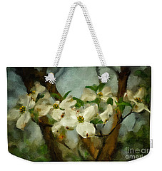 Cool Breeze Painterly Weekender Tote Bag