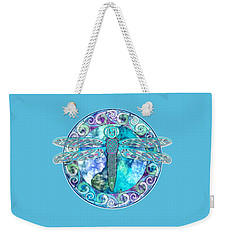 Cool Celtic Dragonfly Weekender Tote Bag