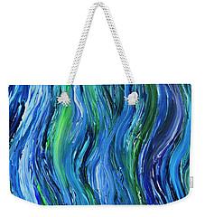 Cool Currents Weekender Tote Bag