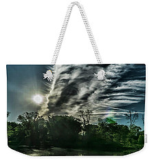 Cool Looking Cloud In The Morning Sun Weekender Tote Bag