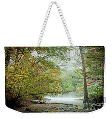 Weekender Tote Bag featuring the photograph Cool Morning by Iris Greenwell