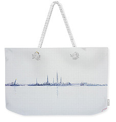 Cool Morning Weekender Tote Bag