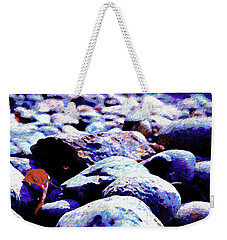 Weekender Tote Bag featuring the photograph Cool Rocks- by JD Mims
