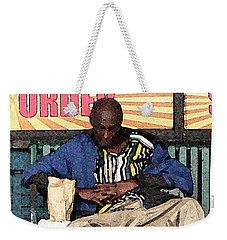 Cool Snap Weekender Tote Bag by Joe Jake Pratt