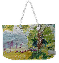Cool Summer Clearing Weekender Tote Bag