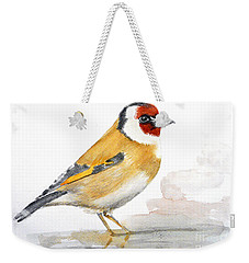 Weekender Tote Bag featuring the painting Cooling by Jasna Dragun
