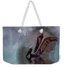 Cooling Off Weekender Tote Bag by Cyndy Doty