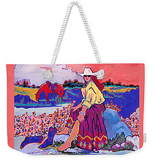 Cooling Their Heels  Weekender Tote Bag