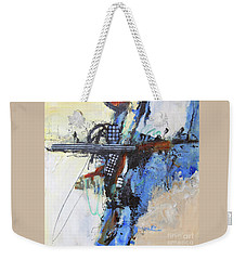 Coolly Collected Weekender Tote Bag by Ron Stephens