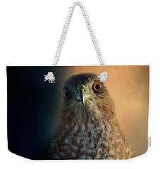 Coopers Hawk At Sunset Weekender Tote Bag