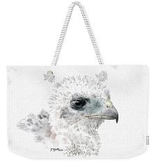 Coopers Hawk Chick Weekender Tote Bag