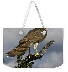 Cooper's Hawk On Watch Weekender Tote Bag