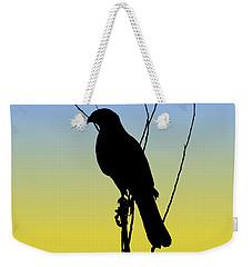 Coopers Hawk Silhouette At Sunrise Weekender Tote Bag