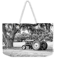 Coosaw - John Deere Parked Weekender Tote Bag by Scott Hansen
