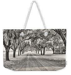 Coosaw Plantation Avenue Of Oaks Weekender Tote Bag
