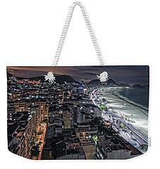 Copacabana Lights Weekender Tote Bag