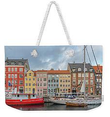 Copenhagen Nyhavn Waterfront Weekender Tote Bag