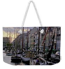 Copenhagen Quay Weekender Tote Bag