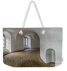 Copenhagen Round Tower Interior Weekender Tote Bag