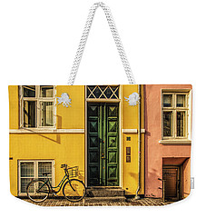 Copenhagen Transportation Weekender Tote Bag