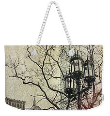 Weekender Tote Bag featuring the photograph Copley Square - Boston by Joann Vitali