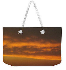 Weekender Tote Bag featuring the photograph Copper Sky  Ozarks by Don Koester