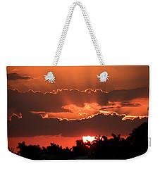 Copper Sunset Weekender Tote Bag