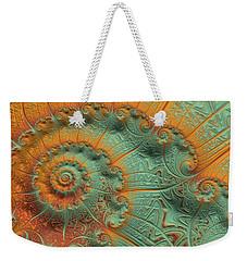 Copper Verdigris Weekender Tote Bag