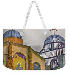 Coptic Church Rebirth Weekender Tote Bag by Joseph Hollingsworth