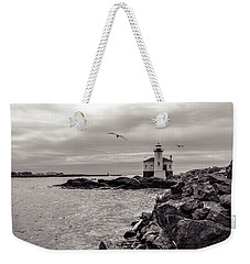 Coquille Lighthouse Oregon  Weekender Tote Bag