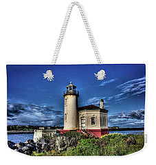 Coquille River Lighthouse Weekender Tote Bag by Thom Zehrfeld