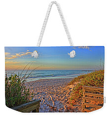 Coquina Beach By H H Photography Of Florida  Weekender Tote Bag by HH Photography of Florida