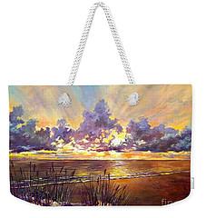 Coquina Beach Sunset Weekender Tote Bag