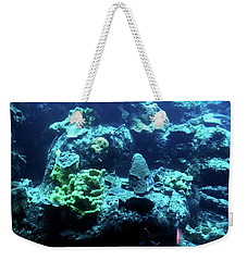 Weekender Tote Bag featuring the photograph Coral Art 4 by Francesca Mackenney