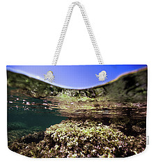 Coral Beauty Weekender Tote Bag