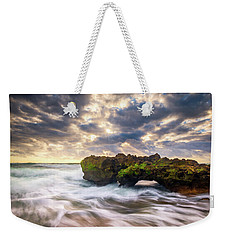Coral Cove Jupiter Florida Seascape Beach Landscape Photography Weekender Tote Bag