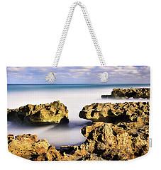 Coral Cove Seascape Weekender Tote Bag