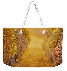 Coral Dawn Weekender Tote Bag
