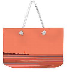 Coral Sea Weekender Tote Bag